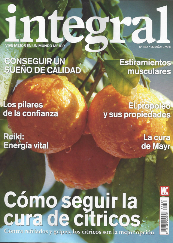 Portada de la revista Integral nº432 - Cover of the Integral magazine nº432 - Portada de la revista Integral nº432