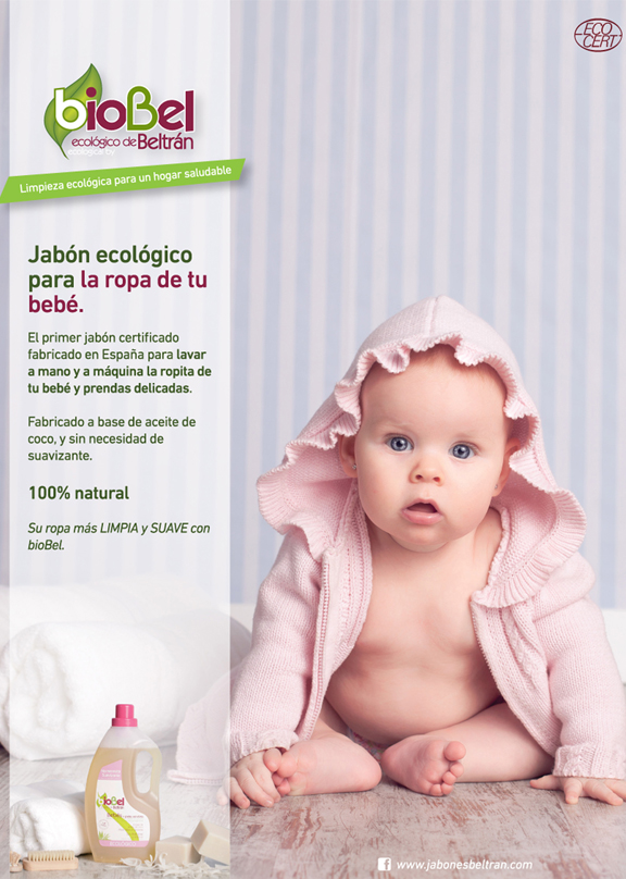 Anuncio bioBel Bebés en Mi Pediatra - Advert of bioBel babies on Mi Pediatra - Anunci de bioBel nadons a Mi Pediatra