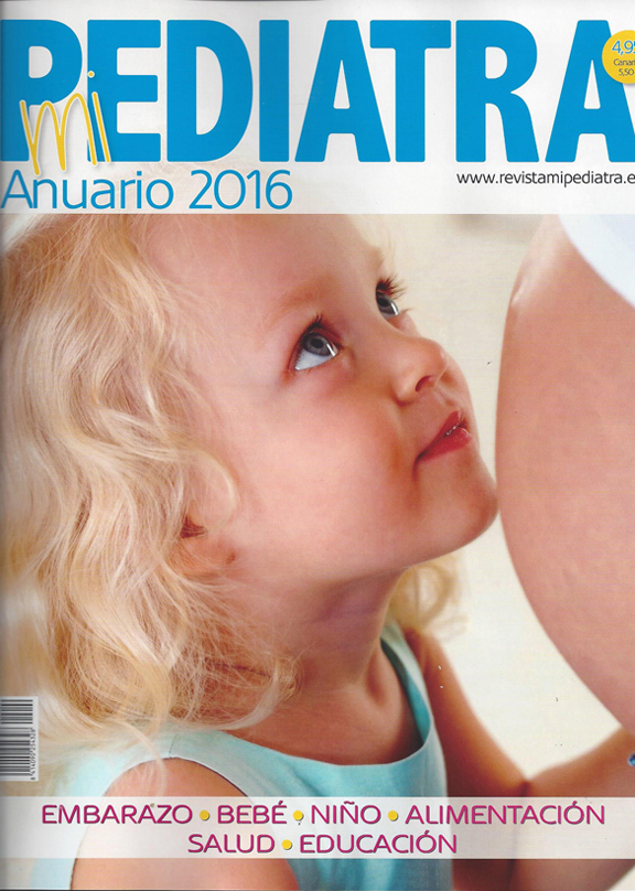 Portada del anuario Mi Pediatra 2016 - Cover of the Yearbook of Mi Pediatra 2016 - Portada del Anuari Mi Pediatra 2016