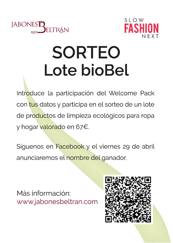 Cartel del sorteo bioBel - Poster on bioBel draw - Cartell del sorteig bioBel