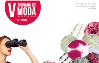 Cartel de la V Jornada de Moda Sostenible - Poster of the V Day of Sustainable Fashion - Cartell de la V Jornada de Moda Sostenible